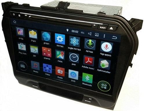 מערכת מולטימדיה אנדרואיד מקורית Suzuki Vitara 2015 10 מסך DIN KD-9199