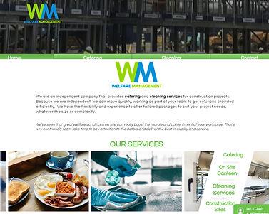 Welfare Management website