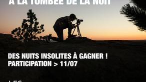 """Concours Photo    """"à la tombée de la nuit"""""""