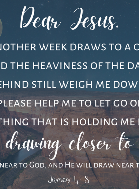 Dear Jesus, Draw Me Close to You