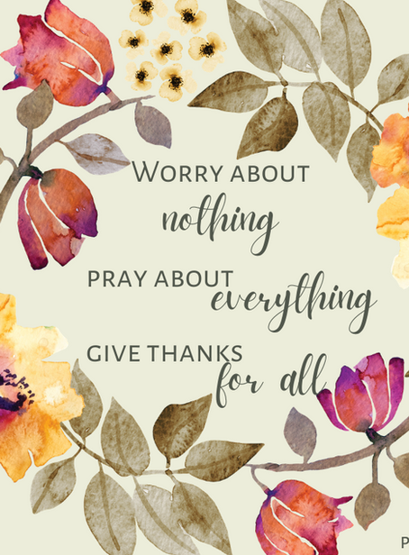 Worry About Nothing