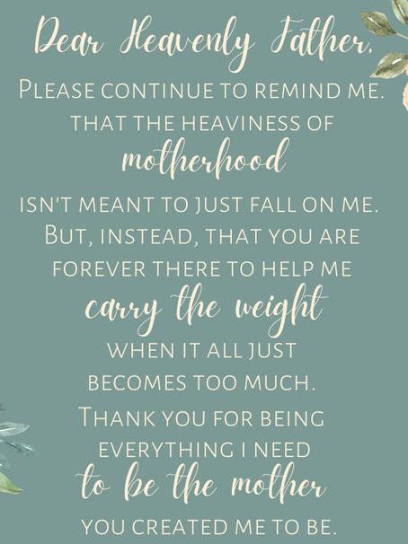 The Weight of Motherhood