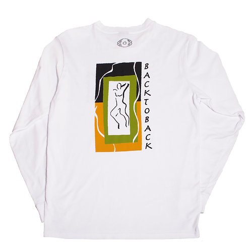 ORGANIC DESIRE LONG SLEEVE WHITE