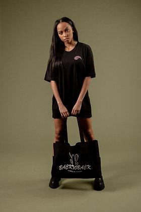 CACTUS SHOPPER - BLACK