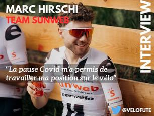 """Marc Hirschi :""""J'aimerais être présent aux Jeux Olympiques"""""""