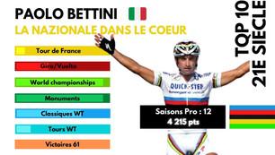 Top 10 du 21e siècle : Paolo Bettini, l'élégance à l'italienne