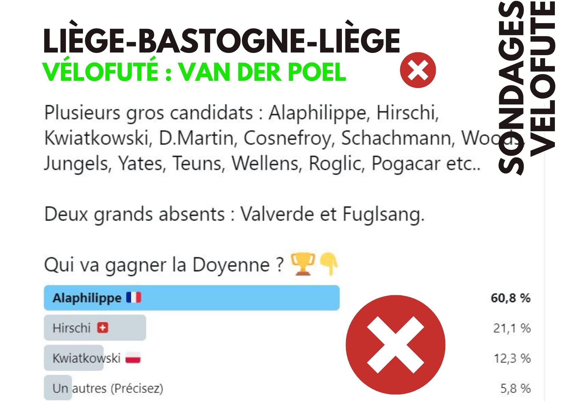 Liège sondage