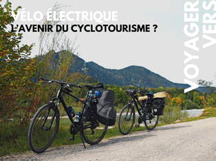 L'électrique, l'avenir du cyclotourisme ?