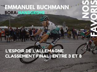 Nos favoris (7/10) : Buchmann pour le podium