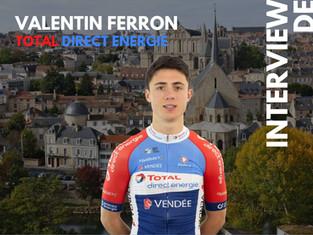 Etape 11 : 5 questions à Valentin Ferron (Team Total Direct Energie)