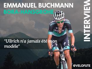 Emanuel Buchmann : « Ullrich n'a jamais été mon modèle »