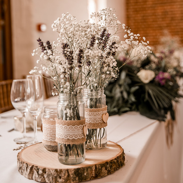 Rustic centre piece