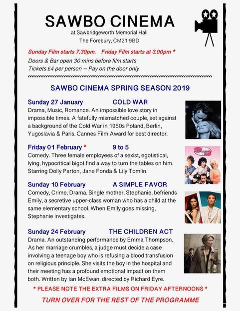 Sawbo Cinema 1 handout Revision Spring 1