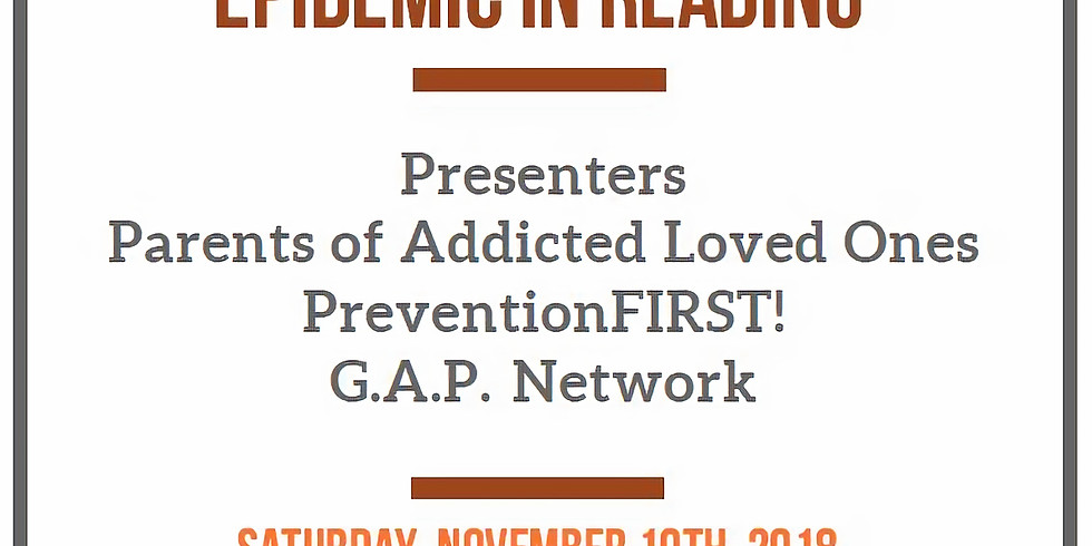 Confronting the Opioid Epidemic in Reading
