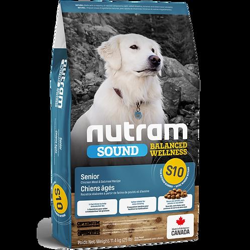 NUTRAM - S10 Recette de farine de poulet et d'avoine