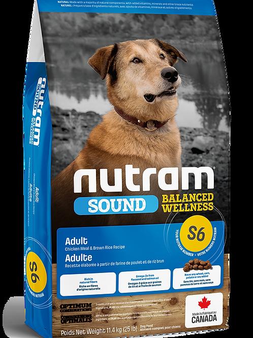 NUTRAM - S6 Recette de poulet et riz brun