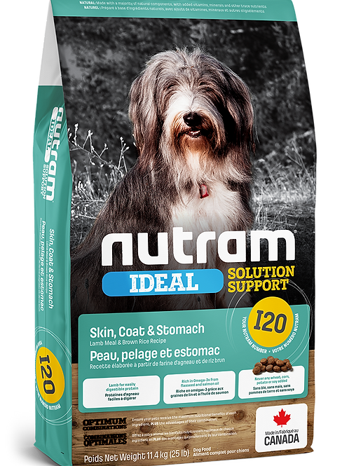 NUTRAM - I20 Recette de farine d'agneau et de riz brun