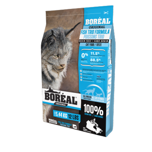 BORÉAL Chat - Original Trio de Poisson