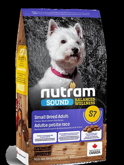 NUTRAM - S7 Recette de poulet et riz brun (Petite race)