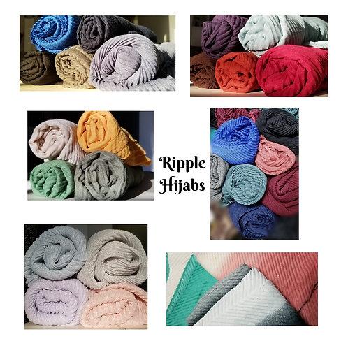 SJ-Ripple Hijabs