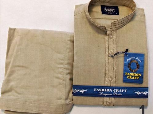 RB-Round Collar Men's  Kameez Shalwar suit
