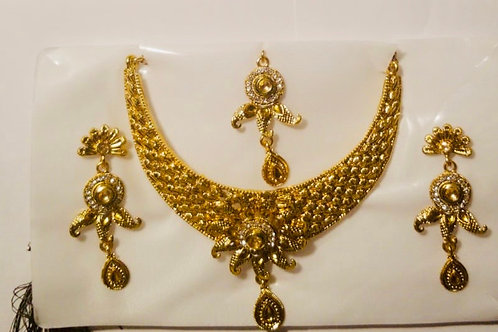 SS-Golden Necklace Set