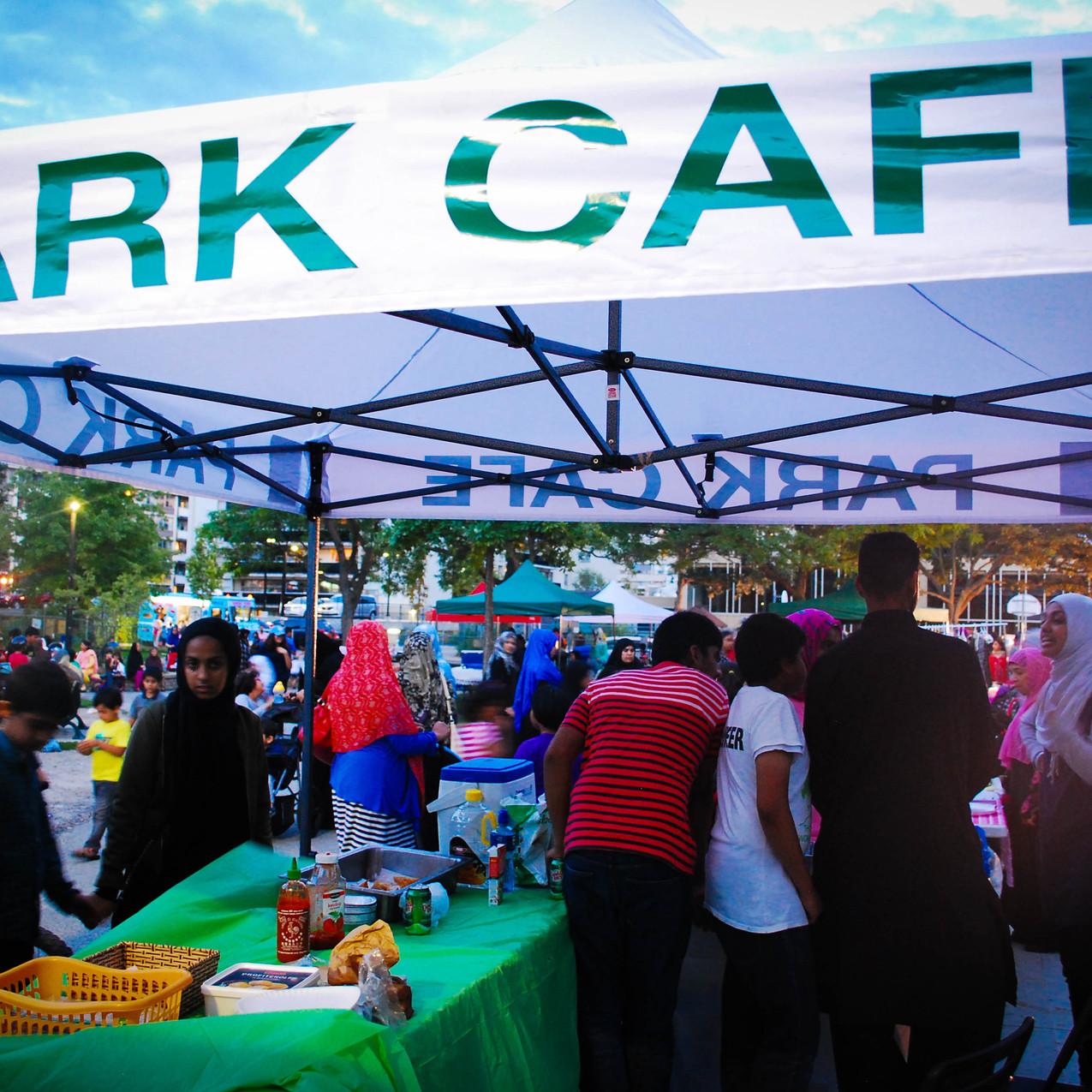 Pop-Up Park Café
