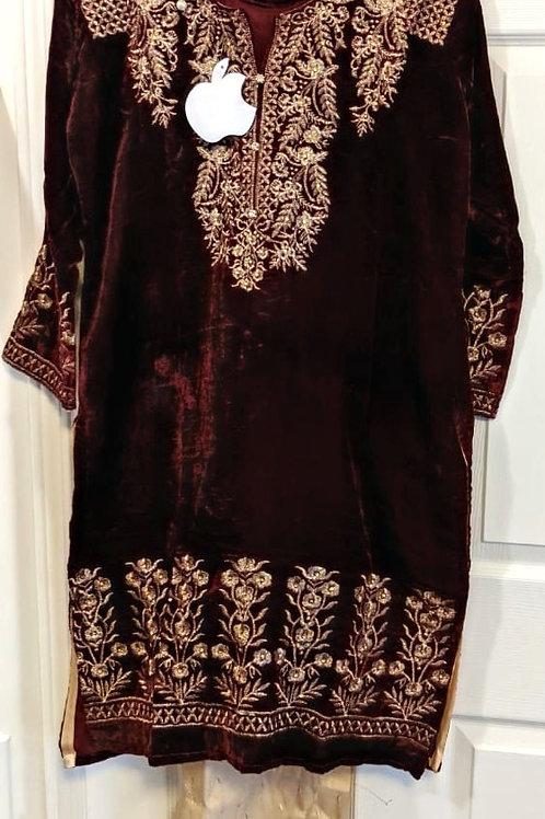 RB-Ladies Velvet Suits - 3 piece
