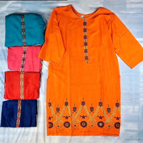 AF-Women's Embroidered Kurti