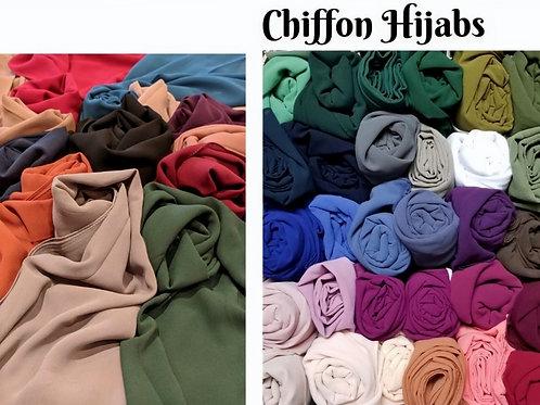 SJ-Chiffon Hijab