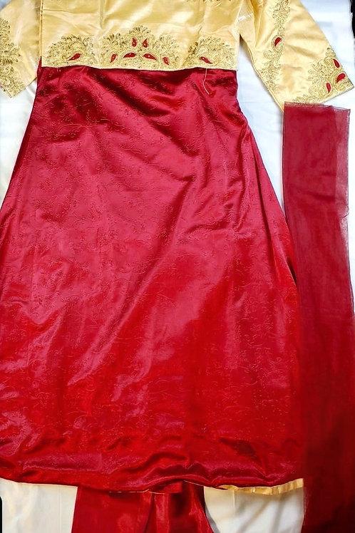AF-Women's Silk Suit
