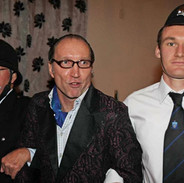 Police at Murder Mystery Party.JPG