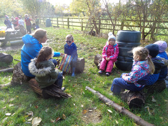 Year 1 Senses at Forest School