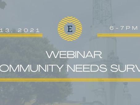 Community Needs Survey Webinar