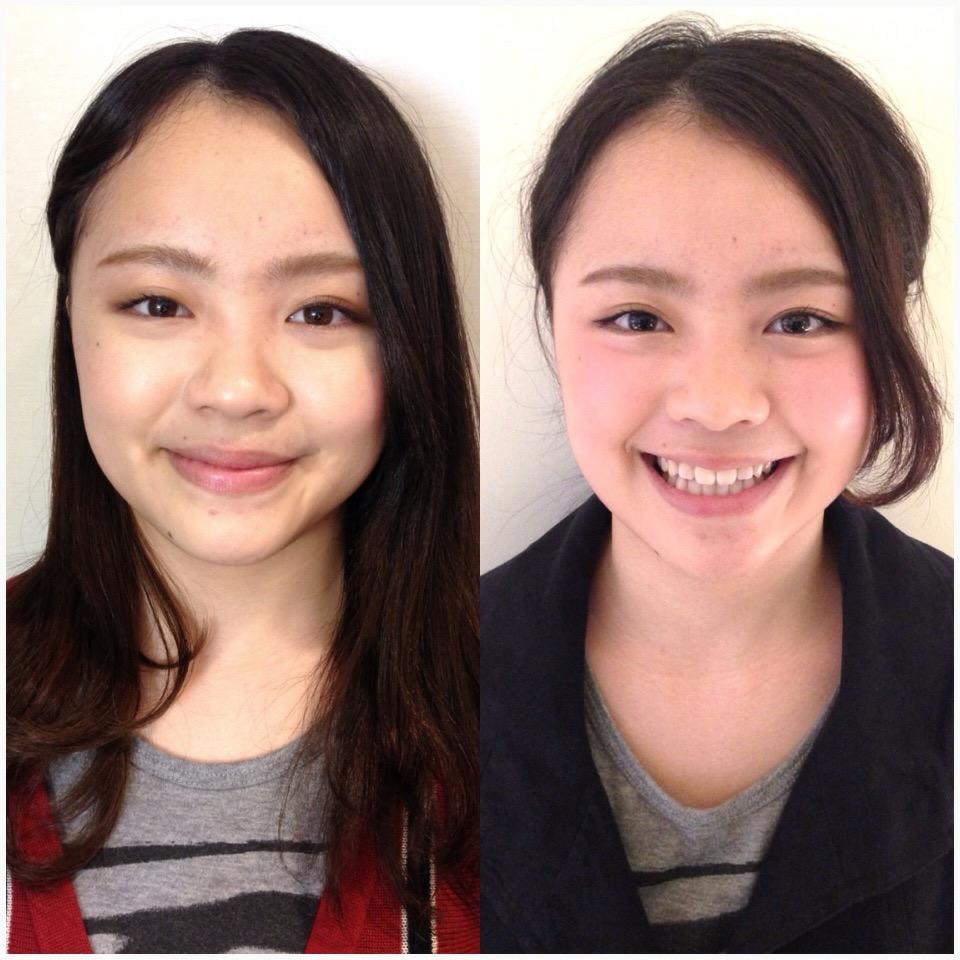 Makeup shooting メイク Arrange アップスタイル