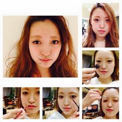 Makeup shooting メイク イメチェン ロングヘア