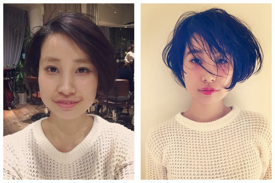 Makeup shooting ボブ Bob Styling メイク