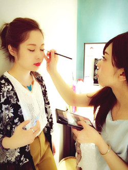 Makeup shooting メイク 撮影 イメチェン コスメ