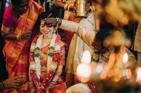 Actual wedding day