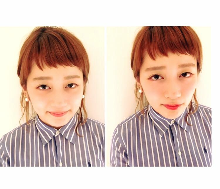 Makeup Shooting メイク ビフォーアフター