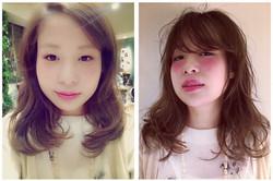 Makeup shooting メイク イメチェン コテ巻き