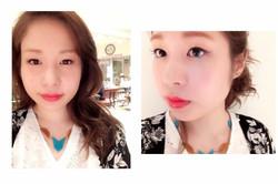 Makeup shooting メイク Arrange コスメ