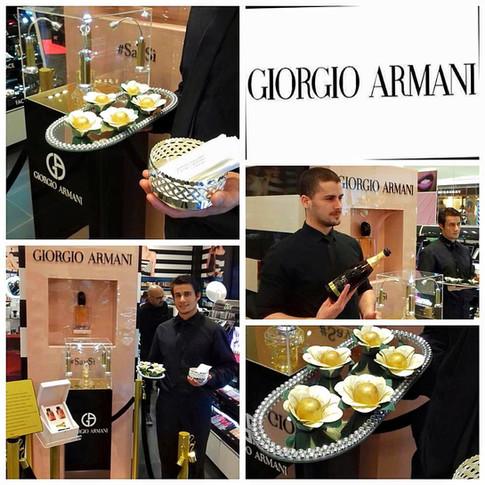 Coquetel para Giorgio Armani
