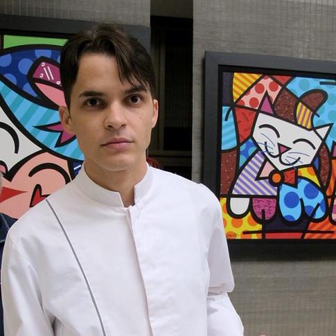 Coquetel para galeria Robson Britto