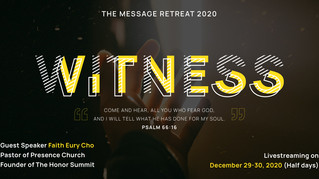 Youth Message Retreat