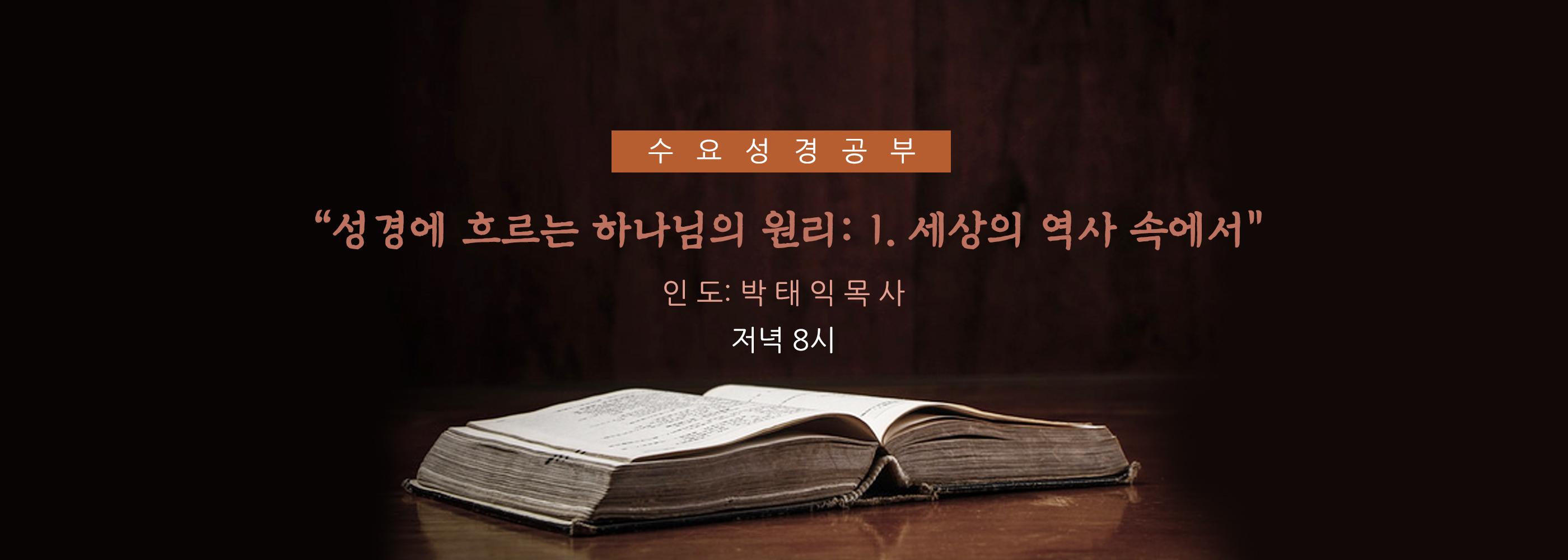 수요성경공부_Banner