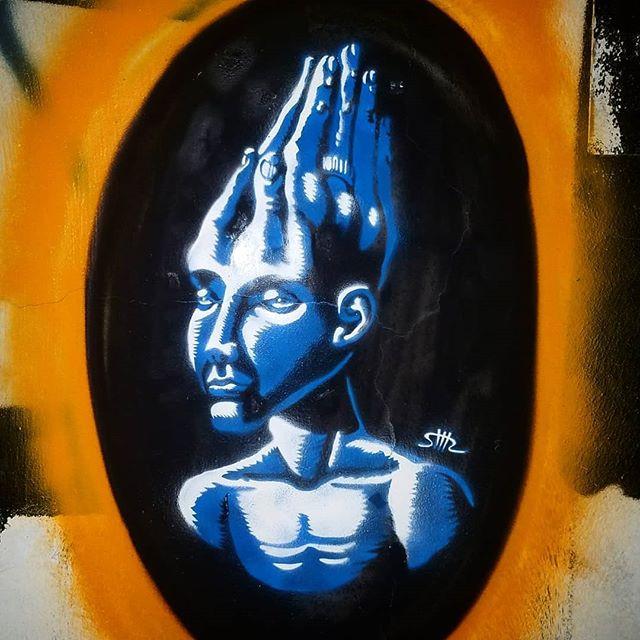 Shir Lamdan Stencils & spray. Florentin. Tel Aviv