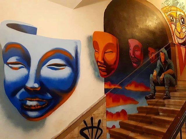 ציור קיר בפופאפ מוזיאון תל אביב 2 שיר למדן Shir Lamdan  ציור ספריי   גודל: 4.5x2.5 מטר רמת פירוט: בינונית משך עבודה: יומים מחיר: 2300 ש״ח