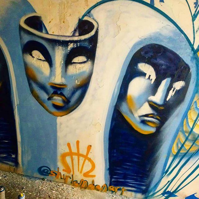 Shir Lamdan Free hand spray.  Tel Aviv