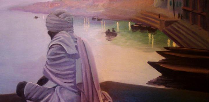 ורנסי שיר למדן שמן על בד  45x60 ס״מ 2010 נמכר Shir Lamdan oil on canvas  sold